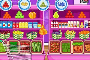 混合水果冰激凌