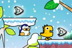 企鹅吃鱼记